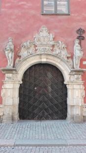 A gate in Gamla Stan