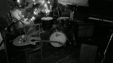 The Soundwich Man stage at S.ta Clara Pub (Gamla Stan)